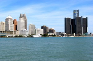 Detroit Skyline, Sept.2008
